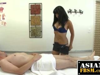 Asian Therapist Sucking A Dick