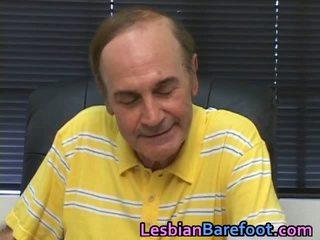 Lesbian pasarica și tâmpit licking