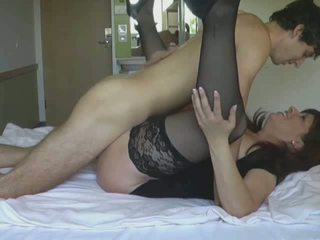 Naughty brunette loves getting her pussy plowed Video