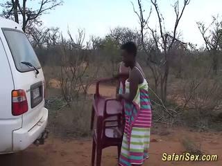 Liar afrika safari seks pesta liar, gratis liar seks resolusi tinggi porno 33