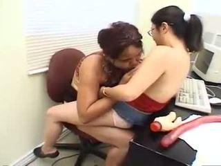 Horny Asian Midget Nibbling Big.
