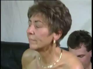 할머니, 올드 + 젊은, hd 포르노