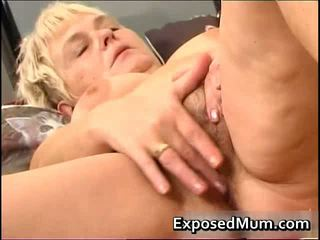 Nasty Mom Feeling Sexy Playing