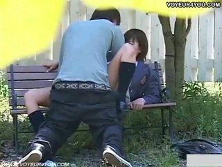 มีอารมณ์ ญี่ปุ่น คู่ เพศ ใน park.