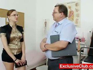 gapende, vagina, dokter