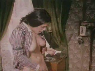 Tyska klassiskt porr film från den 70s video-