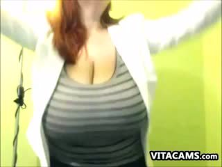 Cute Slut With Big And Saggy Tits