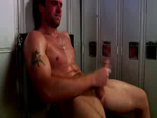 Handsome muscular jock mff