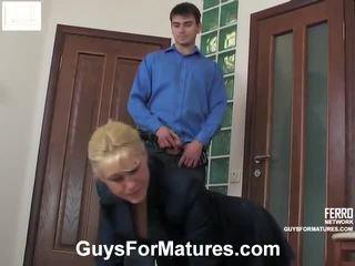 Shocking porno video featuring schön benjamin, bridget, connor brought von guys für reift