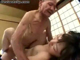 I varfër japoneze nxënëse fucked nga i vjetër fart