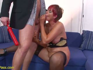Moms Extreme Anal and Pumping Lesson, HD Porn 44