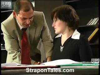 femdom, strapon, karıştırmak