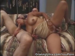 Ethnic Granny Fucked by a Young Stud